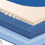 Neptune 2-chamber air mattress bed